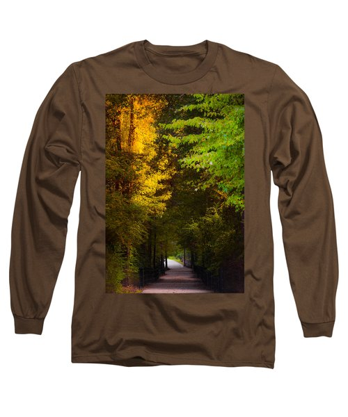 Summer And Fall Collide Long Sleeve T-Shirt by Parker Cunningham