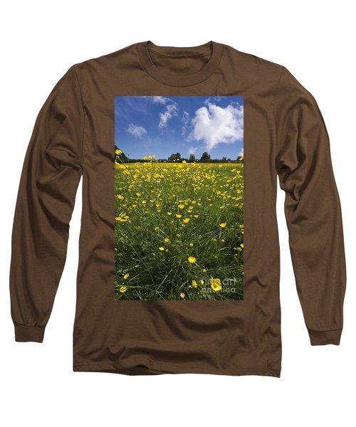 Summer Buttercups Long Sleeve T-Shirt