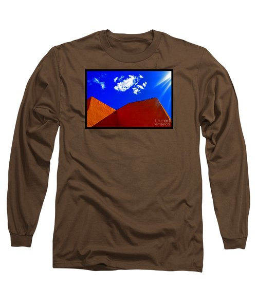 Long Sleeve T-Shirt featuring the photograph Summer Day In The New World by Susanne Still