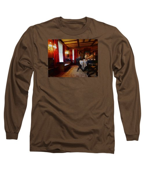 Summer House Long Sleeve T-Shirt by Mikki Cucuzzo