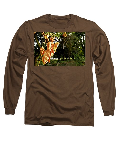 Long Sleeve T-Shirt featuring the photograph Summer's Toll by Robert Knight