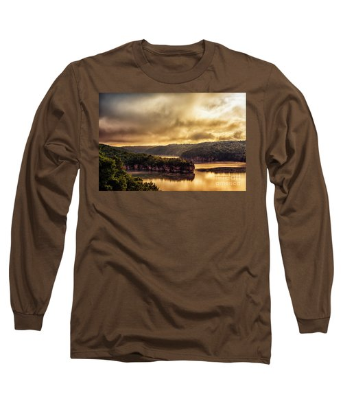Summersville Lake At Daybreak Long Sleeve T-Shirt