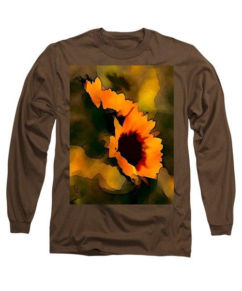 Sun Flower Long Sleeve T-Shirt
