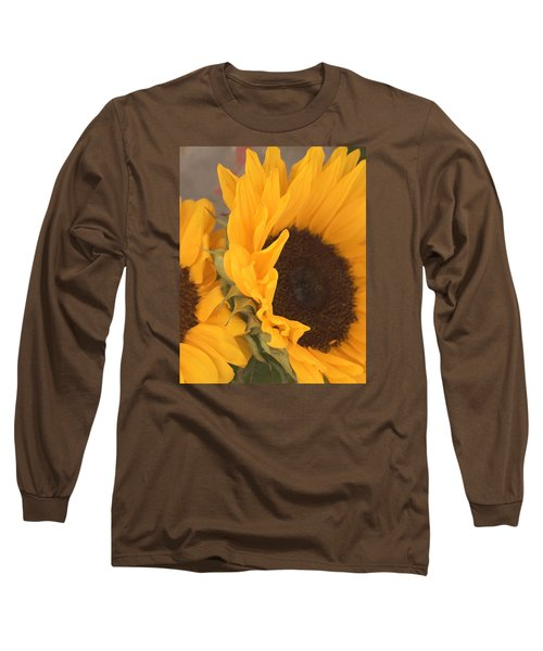 Sun Flower Long Sleeve T-Shirt by Jana Russon