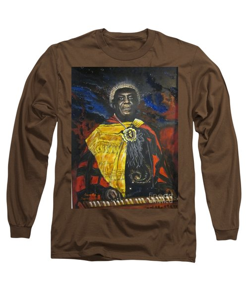 Blaa Kattproduksjoner           Sun-ra - Jazz Artist Long Sleeve T-Shirt