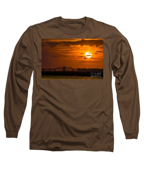 Sundown On The Charleston Coast  Long Sleeve T-Shirt