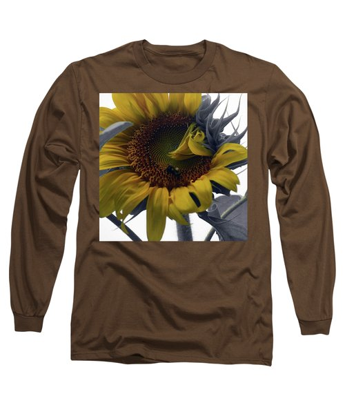Sunflower Bee Long Sleeve T-Shirt
