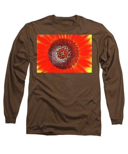 Sunflower Close Long Sleeve T-Shirt