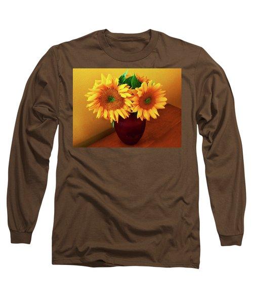 Sunflower Corner Long Sleeve T-Shirt