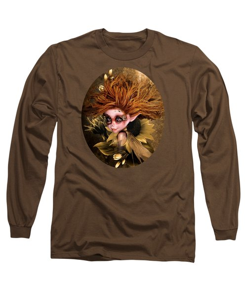 Sunflower Fairy Long Sleeve T-Shirt