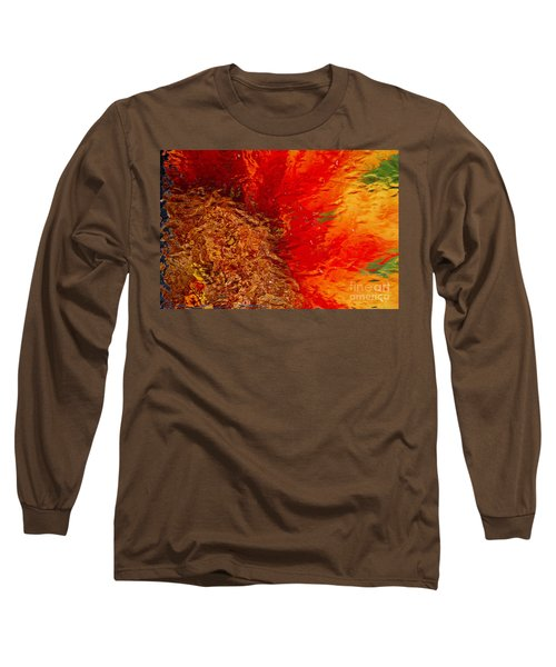 Long Sleeve T-Shirt featuring the photograph Sunflower Impressions by Jeanette French