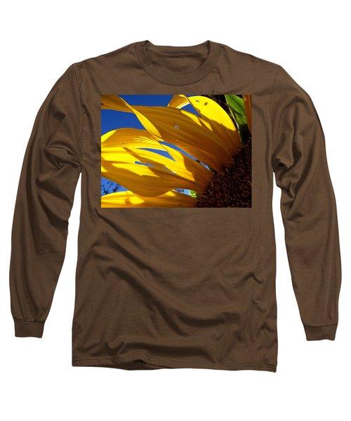Sunflower Shadows Long Sleeve T-Shirt