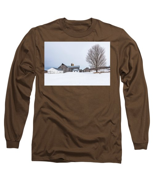 Sunlight On Abandoned Buildings Long Sleeve T-Shirt