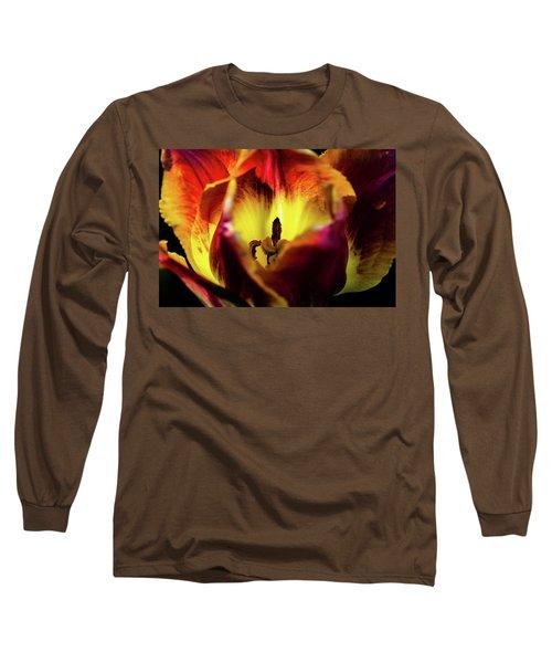 Sunlit Tulip Long Sleeve T-Shirt
