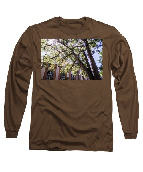 Long Sleeve T-Shirt featuring the photograph Sunny Days At Uga by Parker Cunningham