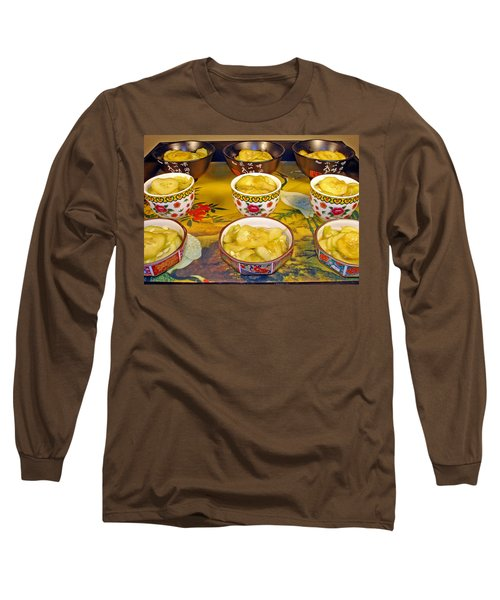 Sunomono In Japanese Teacups Long Sleeve T-Shirt