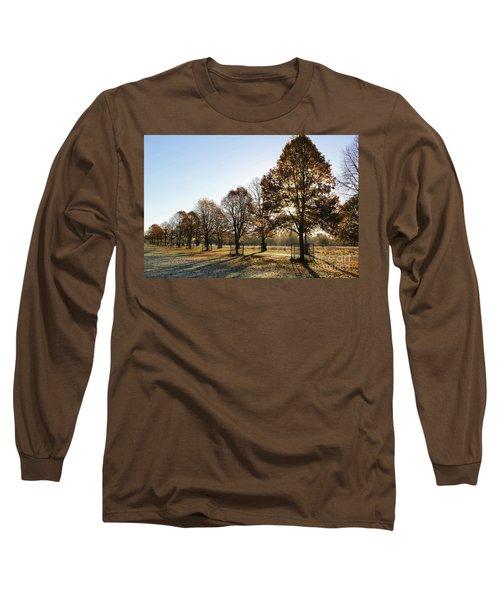 Sunrise And Long Shadows Long Sleeve T-Shirt