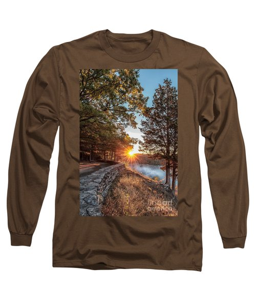Sunrise At Great Bend Long Sleeve T-Shirt
