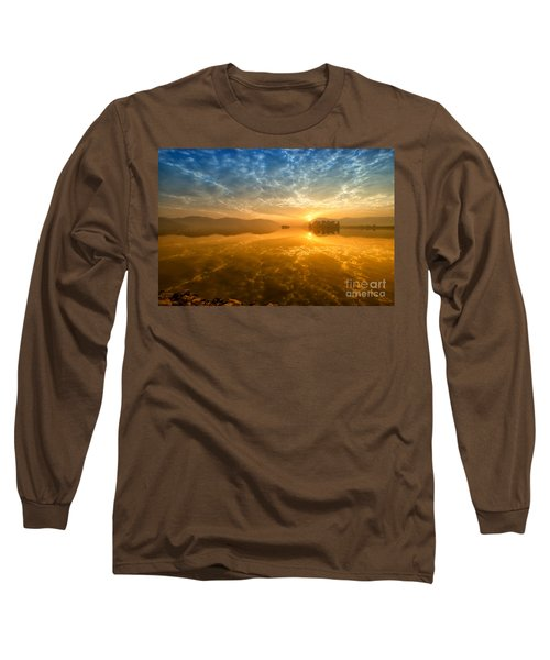 Sunrise At Jal Mahal Long Sleeve T-Shirt