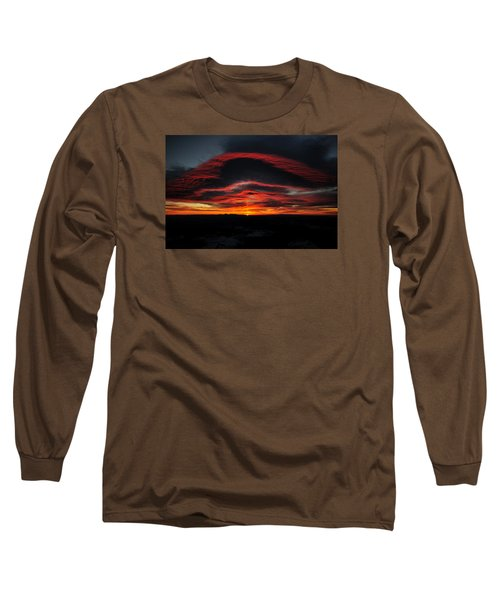 Sunrise On Rainier Long Sleeve T-Shirt
