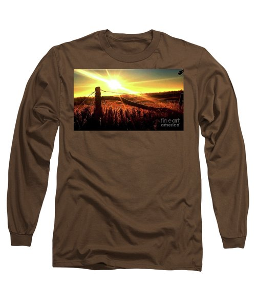 Sunrise On The Wire Long Sleeve T-Shirt