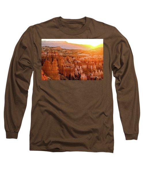 Sunrise Over Bryce Canyon Long Sleeve T-Shirt