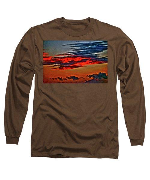 Sunrise Over Daytona Beach Long Sleeve T-Shirt