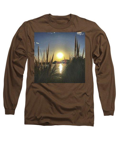 Sunset @ Copper Sky Long Sleeve T-Shirt