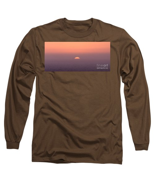Long Sleeve T-Shirt featuring the photograph Sunset At Pacifica by Peter Simmons