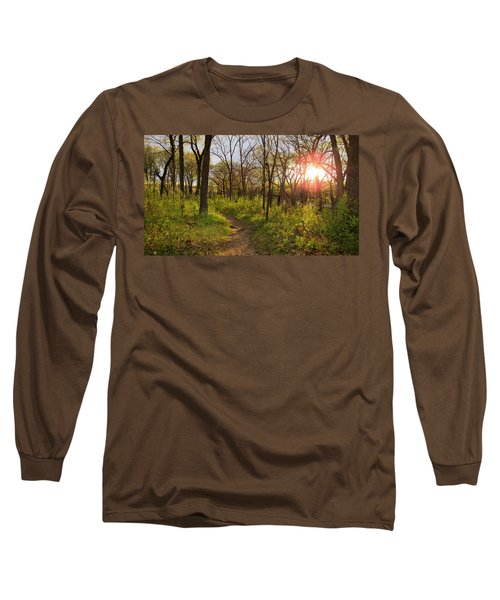 Long Sleeve T-Shirt featuring the photograph Sunset At Scuppernong by Kimberly Mackowski