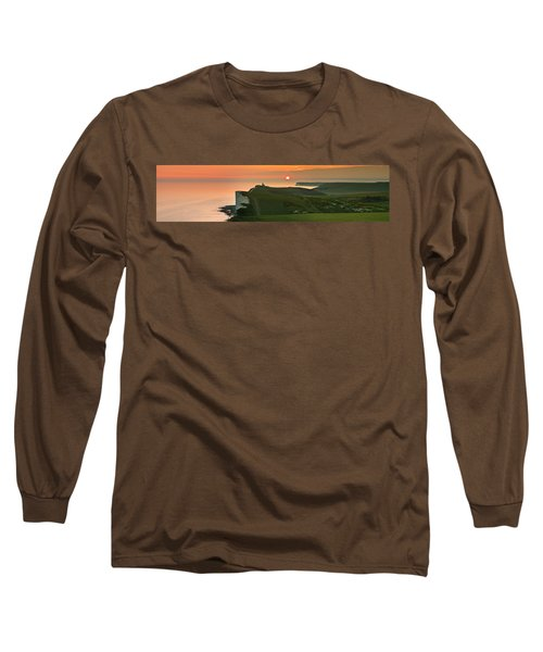 Sunset At The Belle Tout Lighthouse Long Sleeve T-Shirt
