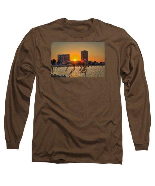 Sunset Between The Condos Long Sleeve T-Shirt