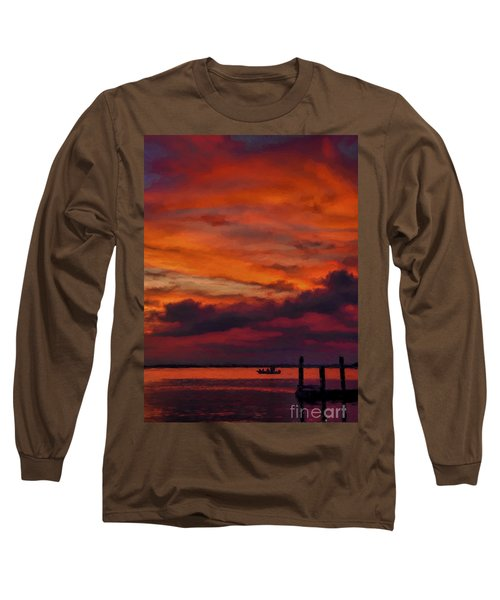 Sunset Cruise  Long Sleeve T-Shirt