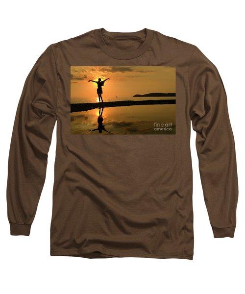 Sunset Dance Long Sleeve T-Shirt