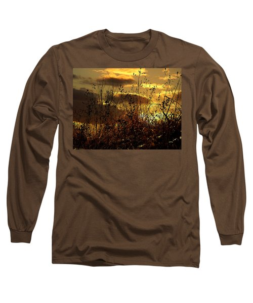 Sunset Grasses Long Sleeve T-Shirt
