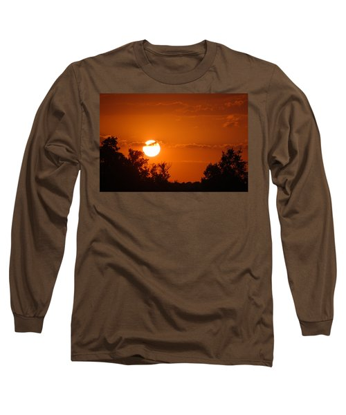 Long Sleeve T-Shirt featuring the photograph Sunset In Charleston by Donna Bentley