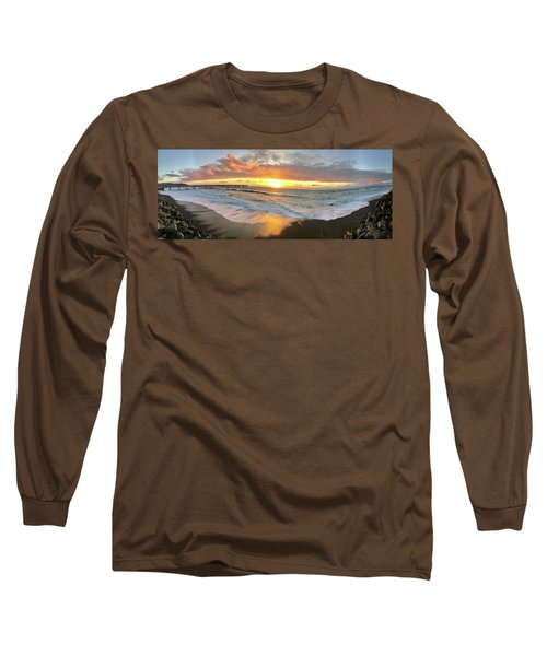 Sunset In Pacifica Long Sleeve T-Shirt