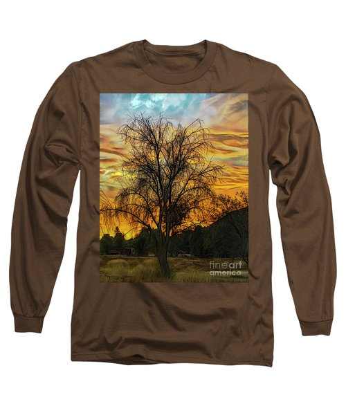 Sunset In Perris Long Sleeve T-Shirt