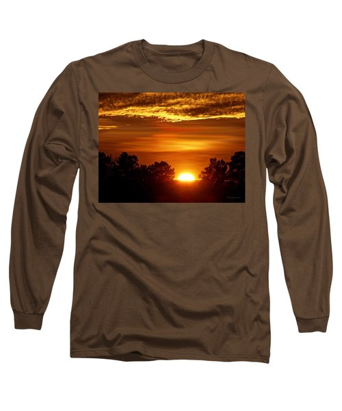 Sunset In Sonoma County Long Sleeve T-Shirt