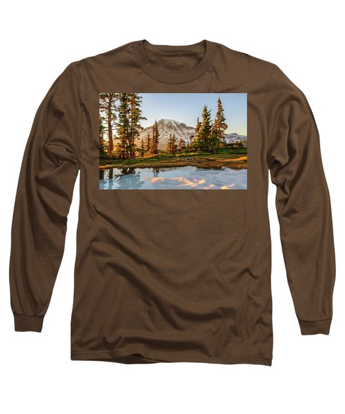 Sunset In The Pinnacle Saddle Long Sleeve T-Shirt