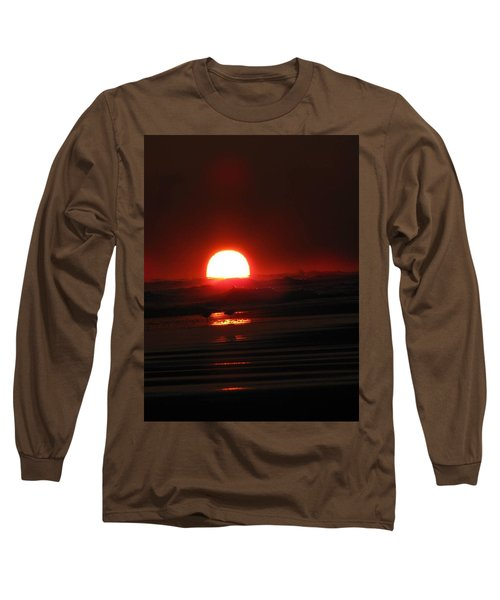Sunset In The Waves Long Sleeve T-Shirt