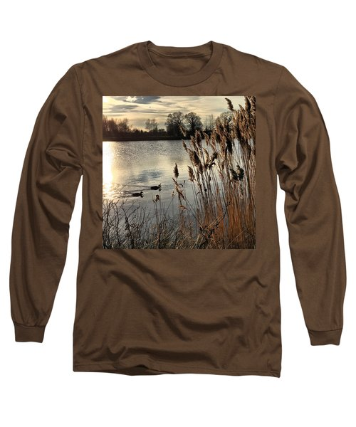 Sunset Lake  Long Sleeve T-Shirt