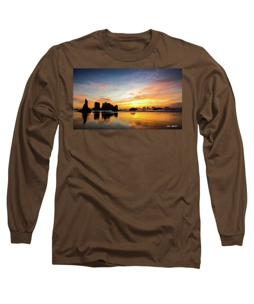 Sunset On Bandon Long Sleeve T-Shirt