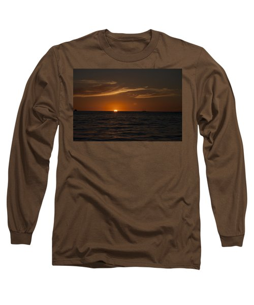 Sunset On Sea Of Cortez Long Sleeve T-Shirt