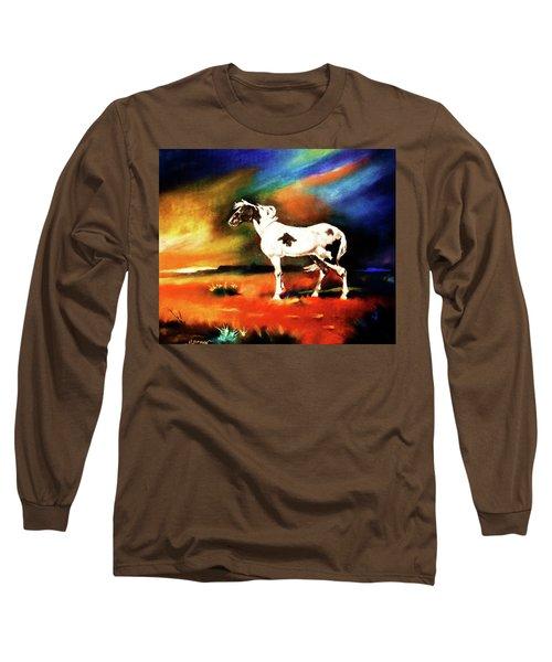 Sunset On The Plains Long Sleeve T-Shirt