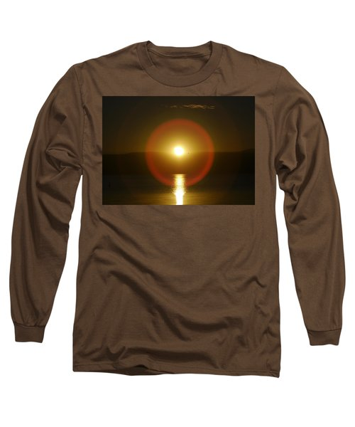 Sunset Over The Lake Long Sleeve T-Shirt