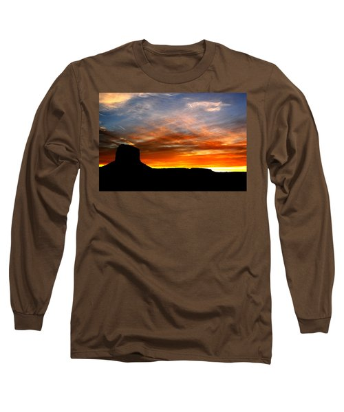 Long Sleeve T-Shirt featuring the photograph Sunset Sky by Harry Spitz