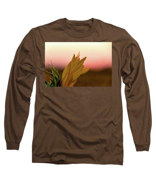 Sunset Sunflower Long Sleeve T-Shirt