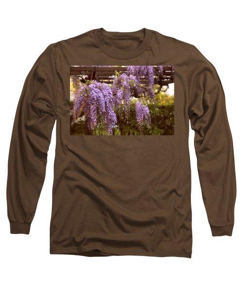 Sunset Wisteria Long Sleeve T-Shirt