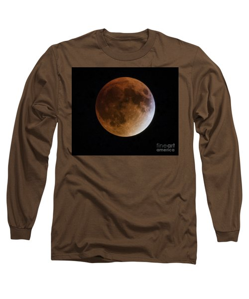 Super Blood Moon Lunar Eclipses Long Sleeve T-Shirt